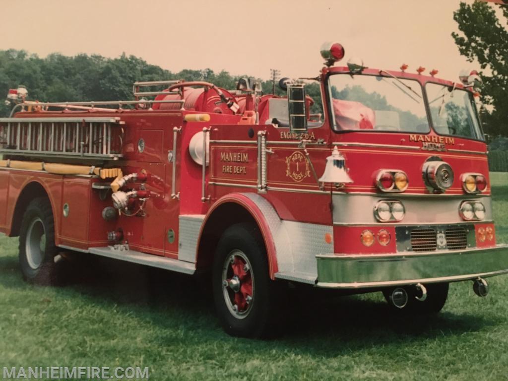 1970 Howe, when it was still in service in Manheim, back in the 80's.