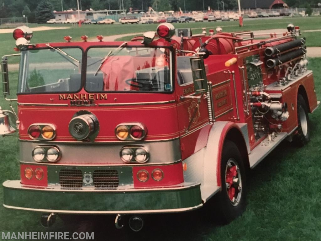 1970 Howe, when it was still in service in Manheim, back in the 80's.